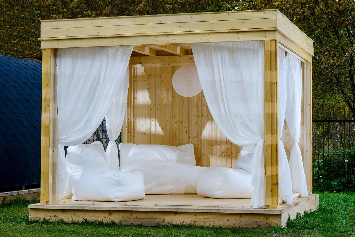 Garden Cubes Castle Cabins